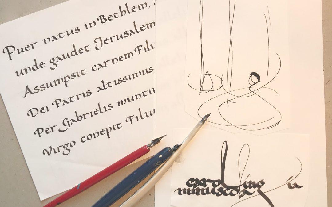 Corso sulla scrittura CAROLINGIA