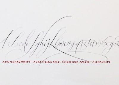 ScritturaSole_Sonnenschrift_sunscript