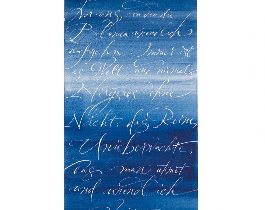 Sonnenschrift als Kunst