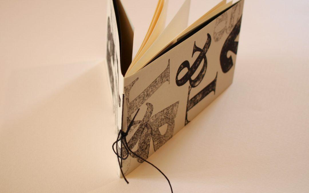 SABATO corso: Stampi con lettere tipografiche e calligrafia